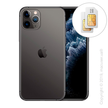 Apple iPhone 11 Pro Max 2-SIM 64GB, Space Gray