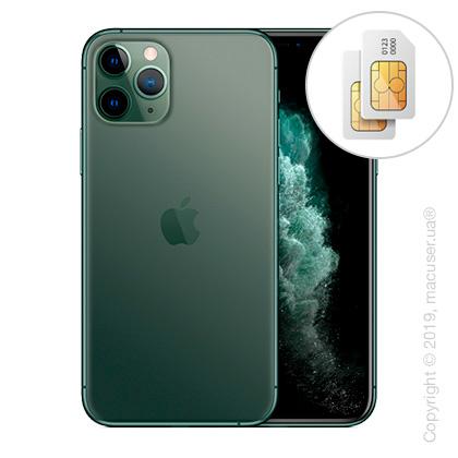 Apple iPhone 11 Pro Max 2-SIM 256GB, Midnight Green