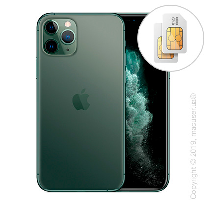 Apple iPhone 11 Pro Max 2-SIM 256GB, Midnight Green