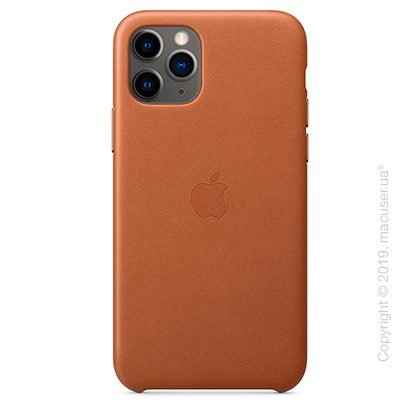 iPhone 11 Pro Leather Case - Saddle Brown