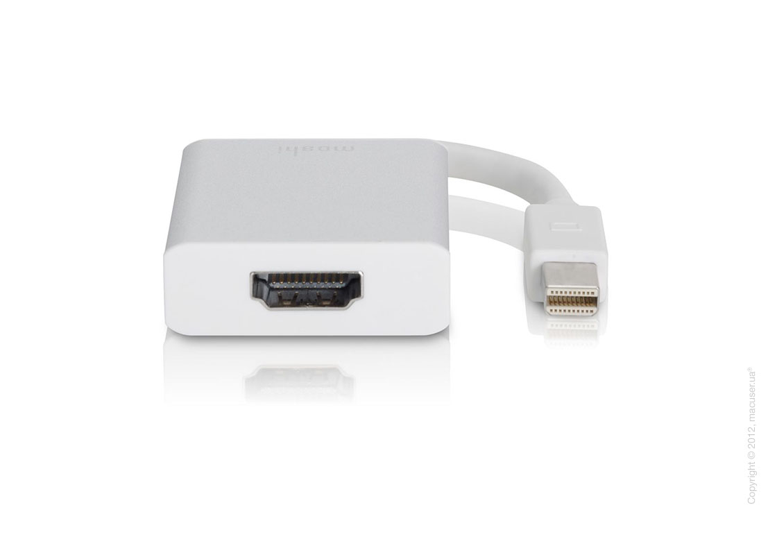 Переходник Moshi Mini DisplayPort to HDMI with Audio Support (со звуком)