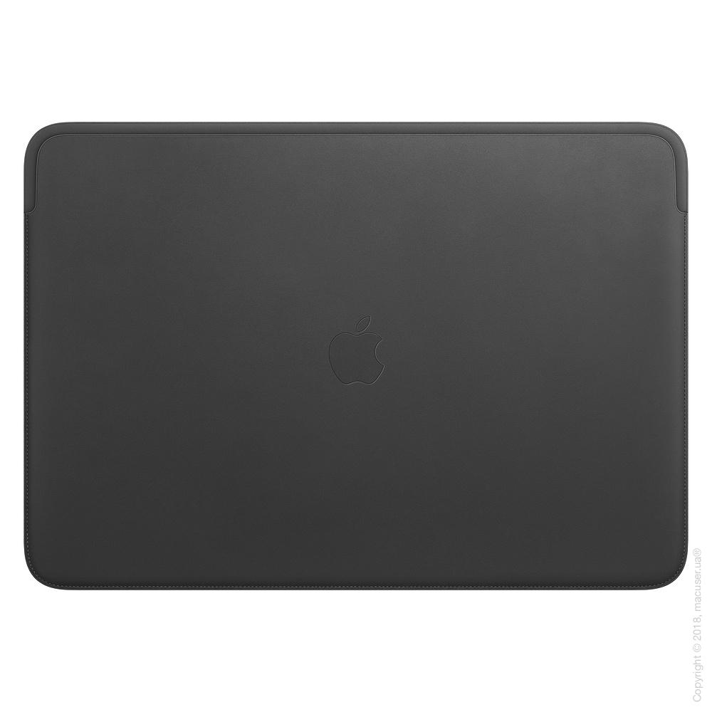 Кожаный чехол для MacBook Pro 16 дюймов, Black