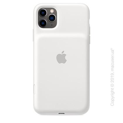 Чехол iPhone 11 Pro Max Smart Battery Case - White