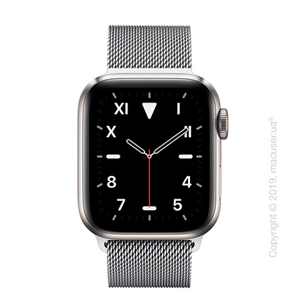 Apple Watch Edition GPS + Cellular, 40mm Titanium Case with Milanese Loop