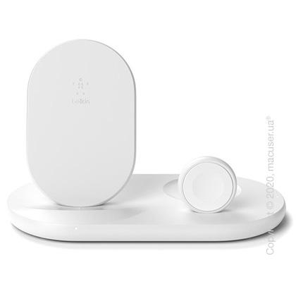 Belkin 3-in-1 Wireless Pad/Stand/Apple Watch White