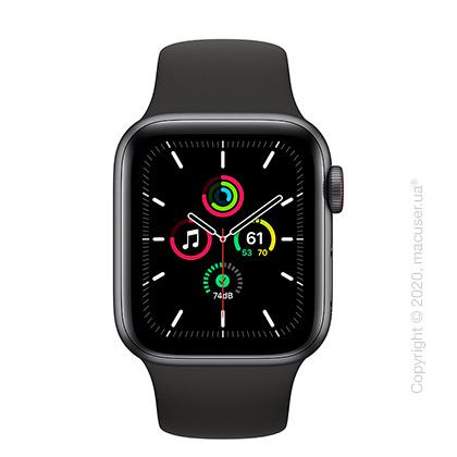 Apple Watch SE GPS + Cellular 40mm Space Grey Aluminium, Black Sport Band