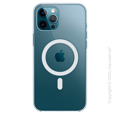 Чехол iPhone 12 Pro Max Clear Case with MagSafe