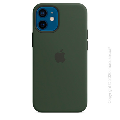 Чехол iPhone 12 mini Silicone Case with MagSafe - Cyprus Green