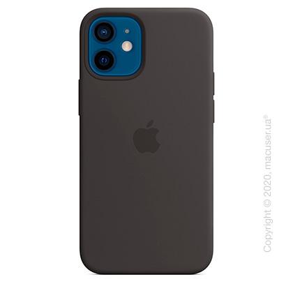 Чехол iPhone 12 mini Silicone Case with MagSafe - Black