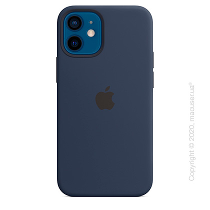Чехол iPhone 12 | 12 Pro Silicone Case with MagSafe - Deep Navy