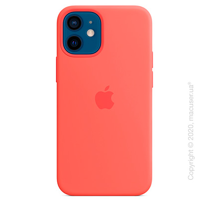 Чехол iPhone 12 | 12 Pro Silicone Case with MagSafe - Pink Citrus