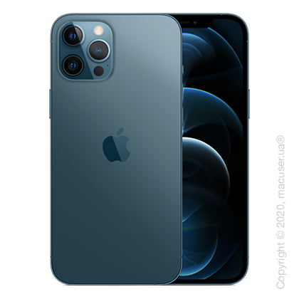 Apple iPhone 12 Pro Max 256GB, Pacific Blue New