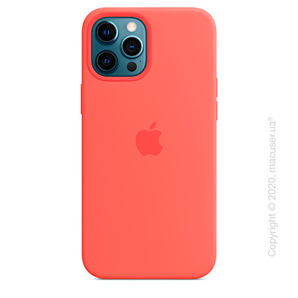 Чехол iPhone 12 Pro Max Silicone Case with MagSafe - Pink Citrus