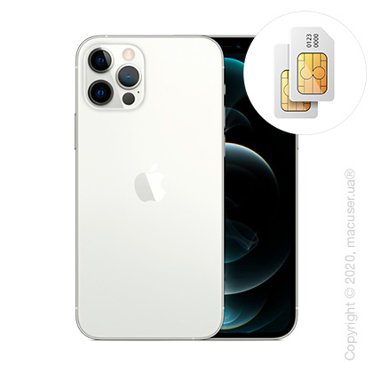 Apple iPhone 12 Pro 2-SIM 128GB, Silver