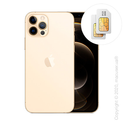 Apple iPhone 12 Pro 2-SIM 256GB, Gold