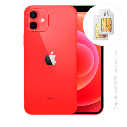 Apple iPhone 12 2-SIM 256GB (PRODUCT)RED