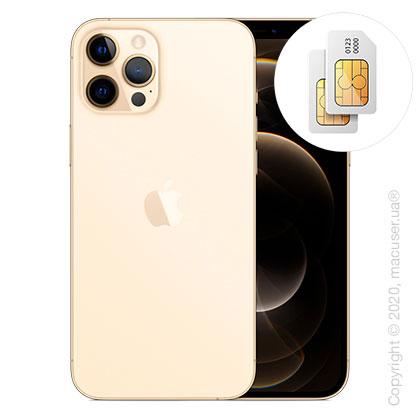 Apple iPhone 12 Pro Max 2-SIM 128GB, Gold