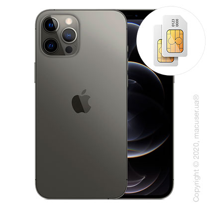 Apple iPhone 12 Pro Max 2-SIM 512GB, Graphite