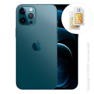 Apple iPhone 12 Pro Max 2-SIM 512GB, Pacific Blue