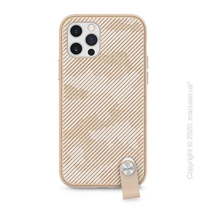 Чехол Moshi Altra Slim Case with Wrist Strap Sahara Beige for iPhone 12/12 Pro