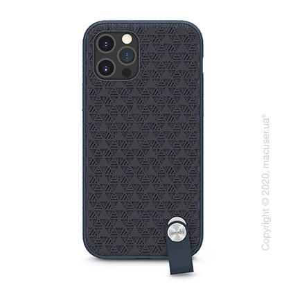 Чехол Moshi Altra Slim Case with Wrist Strap Midnight Blue for iPhone 12 Pro Max