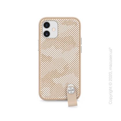 Чехол Moshi Altra Slim Case with Wrist Strap Sahara Beige for iPhone 12 mini