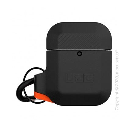 Чехол UAG Silicone для Airpods Black/Orange