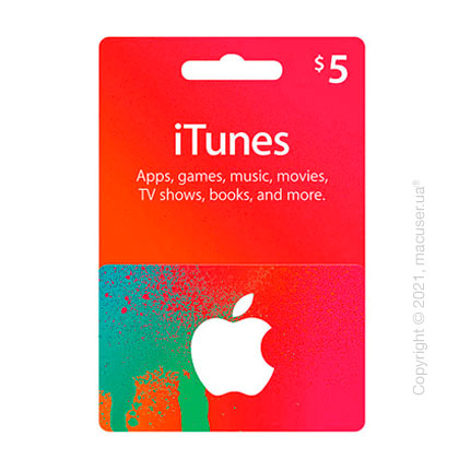 iTunes Gift Card $5