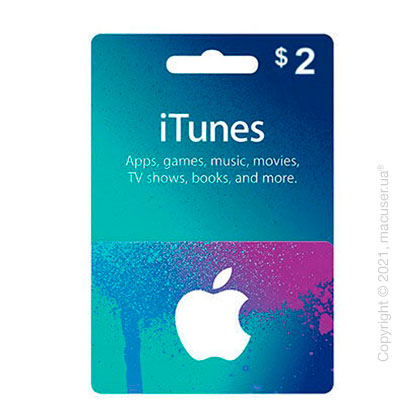 iTunes Gift Card $2