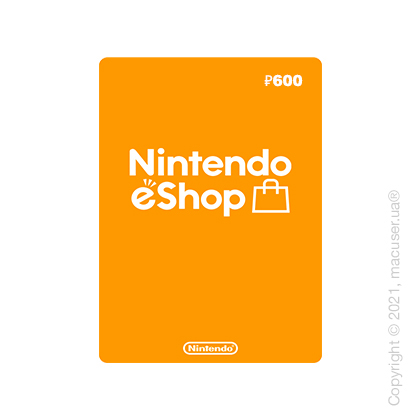 Nintendo eShop Gift Card 600 RUB