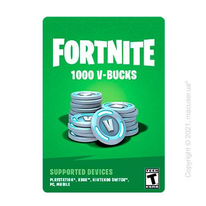 Подарочная карта Fortnite 1000 V-Bucks