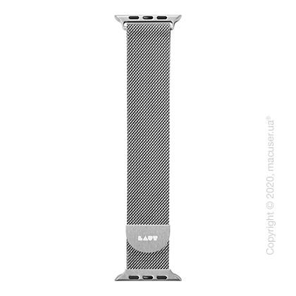 Ремешок Laut STEEL LOOP for Apple Watch 42/44 mm Silver