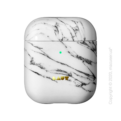 Чехол для наушников Laut HUEX ELEMENTS for AirPods Marble White