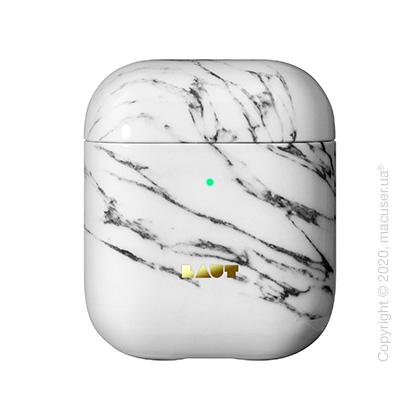 Чехол для наушников Laut HUEX ELEMENTS for AirPods Marble White