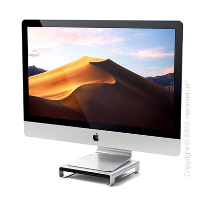 Подставка Satechi Aluminum Monitor Stand Hub Silver for iMac