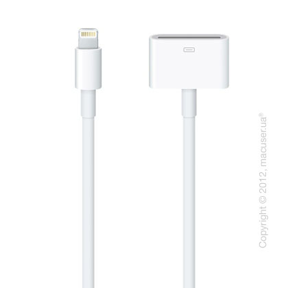 Переходник Apple Lightning to 30-pin Adapter 0.2m