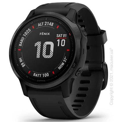 Спортивные часы Garmin Fenix 6S Black with Black Band