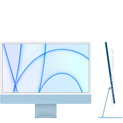 Apple iMac 24'' M1 Blue 2021 (MGPL3)