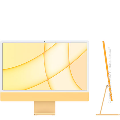 Apple iMac 24'' M1 Yellow 2021 (Z12T)