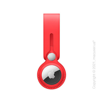 Apple AirTag Leather Loop (PRODUCT)RED