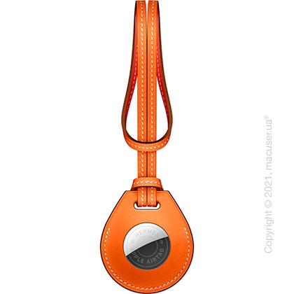 AirTag Hermès Bag Charm Orange