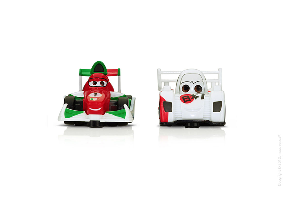 Disney Cars 2 AppMATes by Spinmaster - Todoroki/Francesco Bernoulli