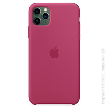 Чехол iPhone 11 Pro Silicone Case, Pomegranate
