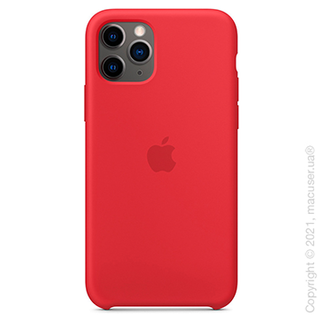 Чехол iPhone 11 Pro Max Silicone Case,(Product) RED