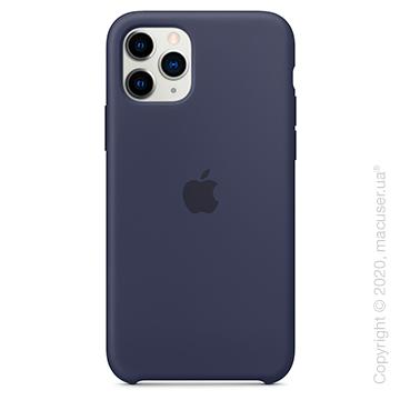 Чехол iPhone 11 Pro Max Silicone Case, Midnight Blue