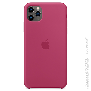 Чехол iPhone 11 Pro Max Silicone Case, Pomegranate