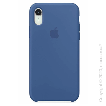 Чехол iPhone Xr Silicone Case, Delft Blue