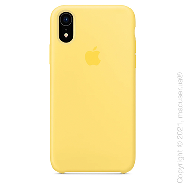 Чехол iPhone Xr Silicone Case, Canary Yellow