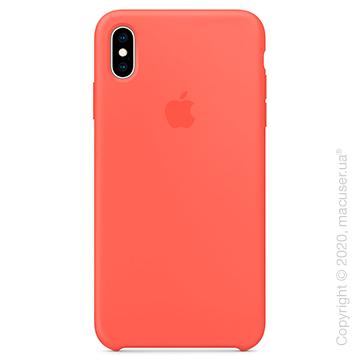 Чехол iPhone Xs Silicone Case, Nectarine