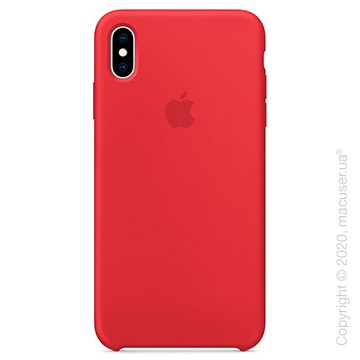 Чехол iPhone Xs Silicone Case, (PRODUCT) Red